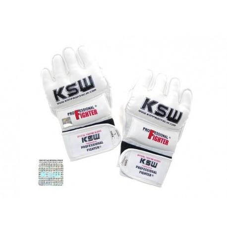 Rękawice do MMA Professional Fighter skóra KSW
