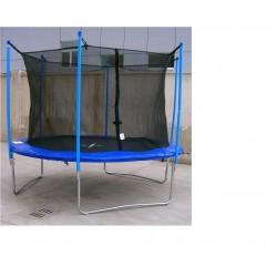 Trampolina 304 cm z siatką ochronną
