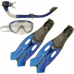Zestaw Speedo Glide maska+rurka+płetwy
