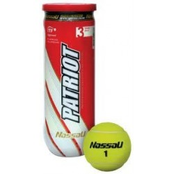 Piłi tenisowe ciśnieniowe Nassau Patriot