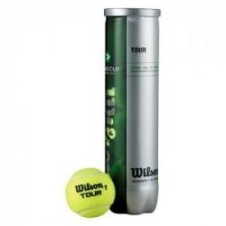 Piłki tenisowe Wilson TOUR Davis Cup 4