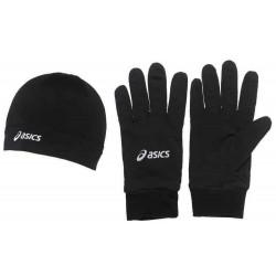 Czapka + rękawice Asics