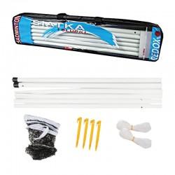 Zestaw do badmintona słupki+siatka REDOX
