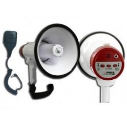 MEGAFON z mikrofonem 20W