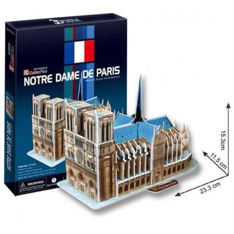 Puzzle 3D Krzywa Wieża 13 elementów
