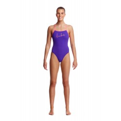 Strój pływacki FUNKITA Purple Punch