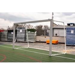 Bramka do piłki nożnej aluminiowa przenośna 3x1,55m ŻAK