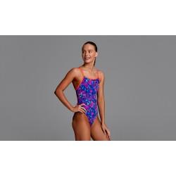 Strój pływacki dziewczęcy FUNKITA Single Strap Tech Suit