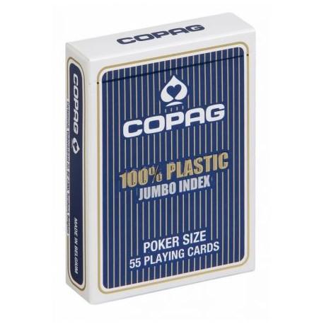 Karty do pokera COPAG 55 kart 100% plastic
