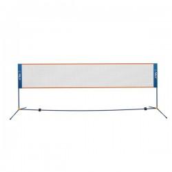 Zestaw do badmintona słupki+siatka NILS NN400